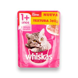WHISKAS SOBRE JELLY CARNE 85GR