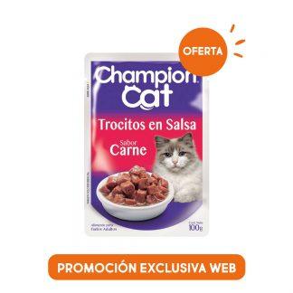 Salsa Champion Cat, alimento húmedo